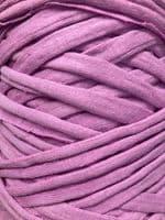 Medium T-Shirt Recycled Jersey Knitting Crochet Rug Yarn Wisteria